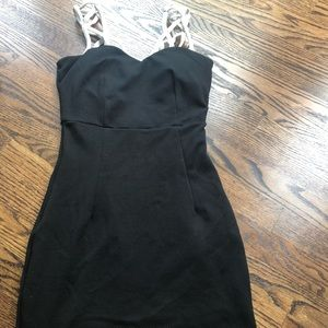 Agaci black mini dress ➰ EUC